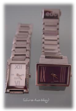 meine Esprit-Armbanduhren