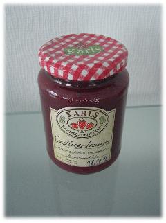 karls Erdbeertraum - ein wahrer Marmeladentraum