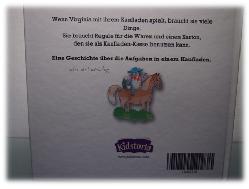 Rückseite des Kinderbuches