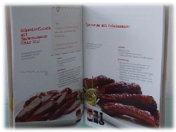Kochbuch mit chinesischen Gerichten