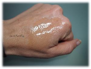 Wet Skin von Lancaster auf meiner Haut