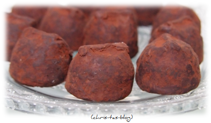 leckere Cocoa Dusted Truffles