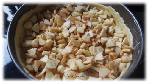 leckerer Apfelkuchen
