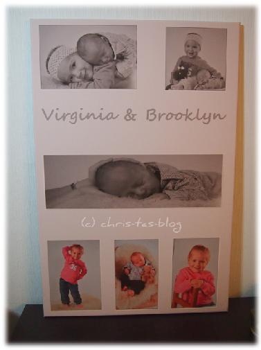Leinwandbild mit Virginia & Brooklyn