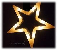 Leucht Stern Deko Weihnachten