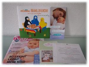 Baby & Co, Malbuch Lansinoh, Produktinfo