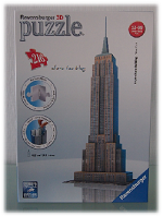 Empire State Building in 3D vom Duborg-Onlineshop