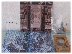 Der Inhalt meines 3D Puzzles Empire-State Building