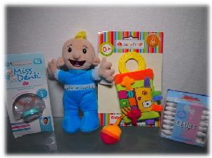 Miss Denti von nip, Baby Fehn, Spiele Max Puppe, Q-Tips für Babys