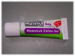 Mammut-Zahni-Gel für Babys ersten Zahn