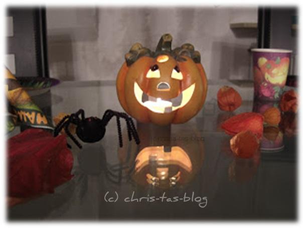 Halloween Deko für den Tisch