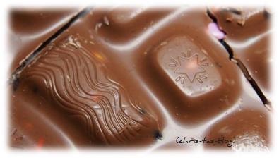 Muster auf der Milka Choco Jelly