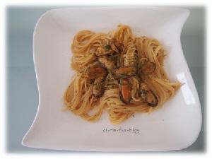 Gewürzkasten für Spaghetti Vongole