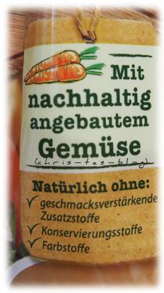 nachhaltig angebauts Gemüse im Knorr Aromapack®