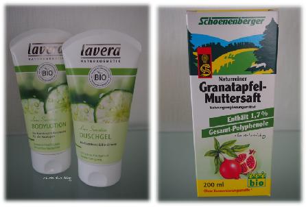 nu3 bietet Granatapfel-Muttersaft und lavera Kosmetik