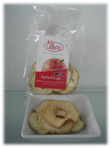 Apfelchips - getrocknete Apfelringe