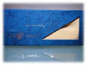 Augenkissen mit Bergkristall in Geschenkverpackung