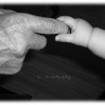 Oma - 99 Jahre - und Virginia - 3 Monate