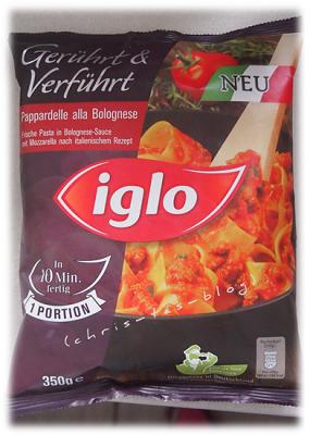 pappardelle alla Bolognese von iglo gerührt und verführt