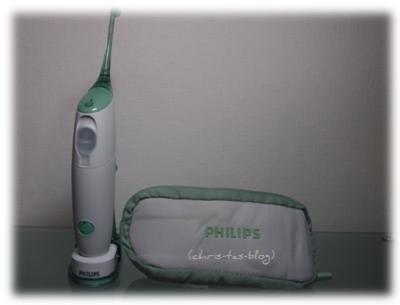 Philips sonicare Airfloss mit Reiseetui