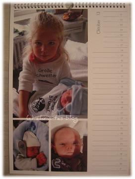 Meine Enkelkinder im Pixum-Fotokalender
