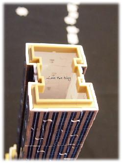 Aufbau des 3D Puzzle Empire State Building von Ravensburger