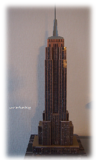 3D Puzzle fertig - Das Empire State Building jetzt auch in Neustadt