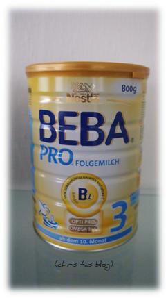 qualitativ hochwertige Kindernahrung Beba