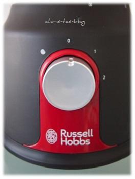 2 Geschwindigkeitsstufen der Russel Hobbs Küchenmaschine Desire-Collection