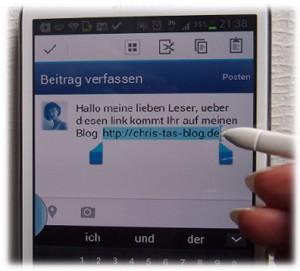 Mit dem S-Pen schnell Textpassagen markieren
