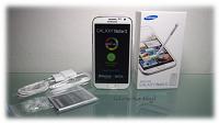 Ich darf das Samsung Galaxy Note II testen