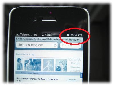 schwacher Akku des iphone 4S
