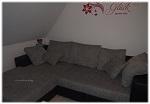 Unser neues Sofa – auch zum Toben bestens geeignet