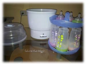 Sterilisator für Babyfläschchen