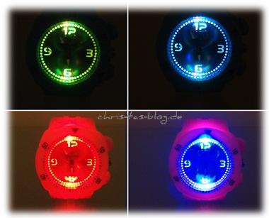 mojuwa LED-Leuchtuhren - absolut stylisch
