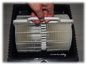 Plattenstapel entnehmen Venta Luftwäscher