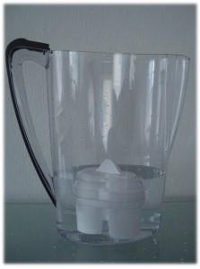 Patronen im BWT Tischwasserfiltersystem