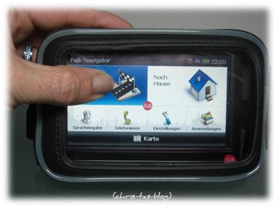 wasserfeste Tasche für Navigationsgerät