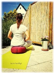 yogakissen im Einsatz
